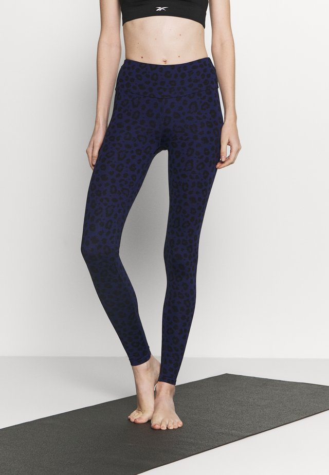 LEGGINGS LEO - Trikoot - blue