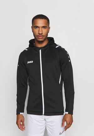 CHALLENGE MIT KAPUZE - Sportovní bunda - schwarz/weiß