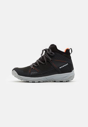 SAENTIS PRO WP - Hiking shoes - black/vibrant orange