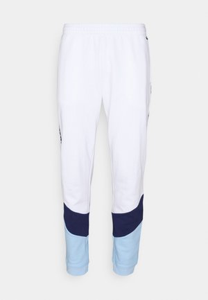PANT TAPERED - Träningsbyxor - white