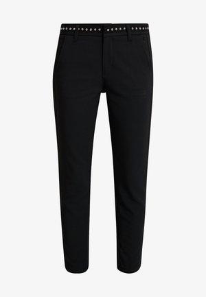 CLAUDIA POLYNEO - Trousers - black