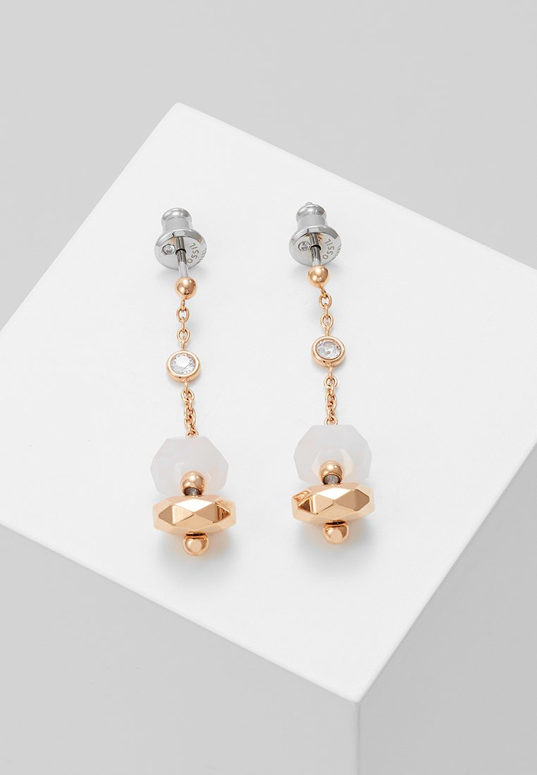 Fossil - CLASSICS - Boucles d'oreilles - roségold-coloured