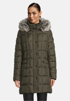 Winter coat - dunkelgrün