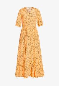 PCNIMMA ANKLE DRESS - Maxi dress - artisans gold