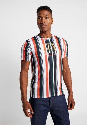 FITTED CALIFORNIA STRIPE  - T-shirt med print - multi