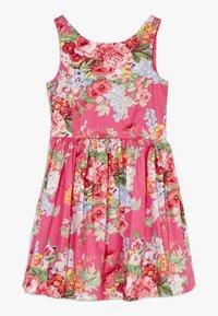 Polo Ralph Lauren - FIT DRESSES - Denní šaty - pink multi - 0
