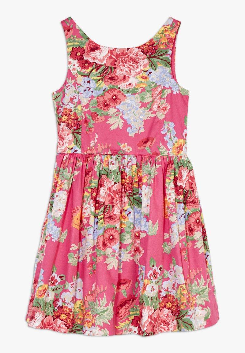 Polo Ralph Lauren - FIT DRESSES - Denní šaty - pink multi