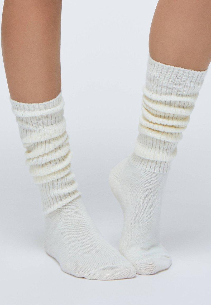 OYSHO - Socks - grey