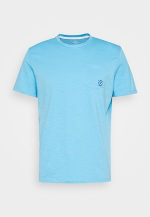 WITH POCKET - T-shirts basic - soft cloud blue