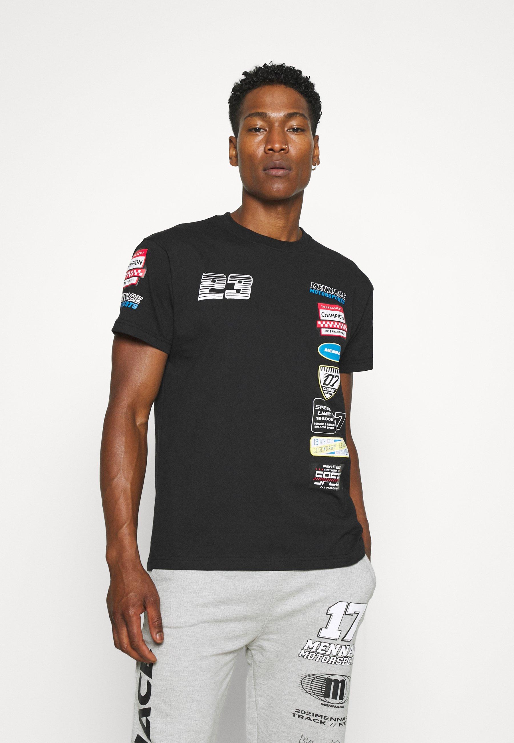 Donna PETROL BADGE REGULAR UNISEX - T-shirt con stampa
