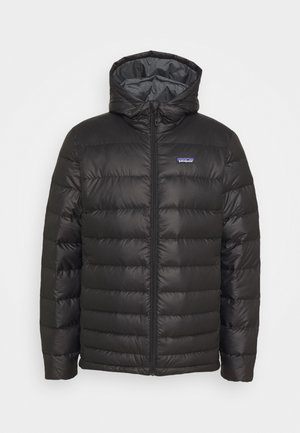 HOODY - Down jacket - black