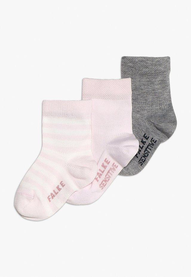 BABY 3 PACK - Socks - rose