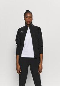 Puma - TEAMGOAL SIDELINE JACKET - Training jacket - black - 0