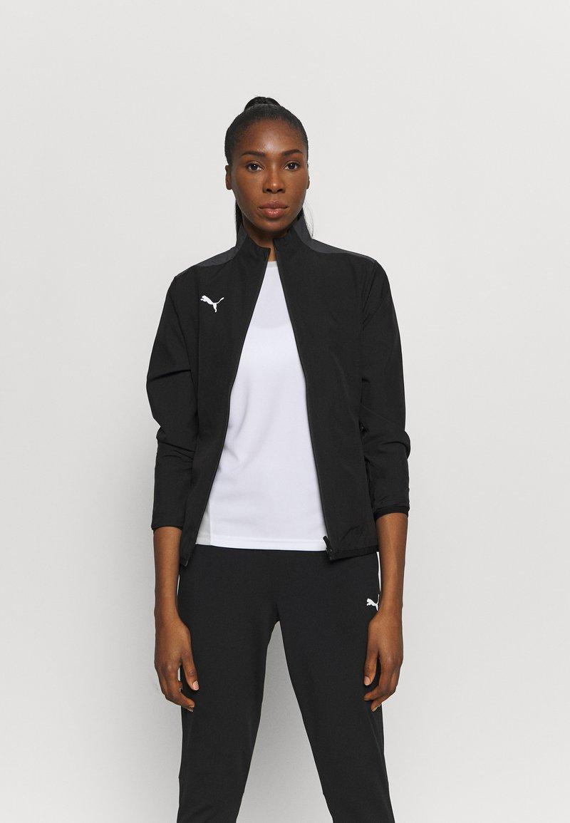 Puma - TEAMGOAL SIDELINE JACKET - Training jacket - black