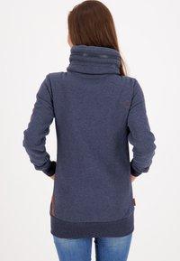 alife & kickin - VIVIANAK - Zip-up hoodie - marine - 2