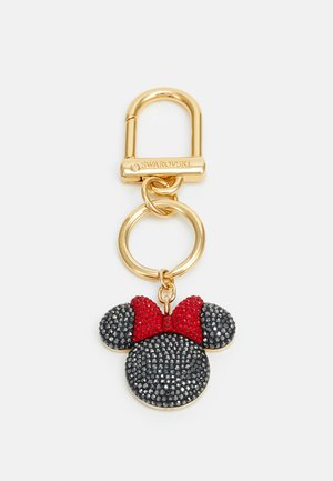 MINNIE & MICKEY BAG CHARM - Keyring - gold-coloured