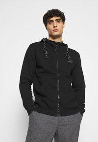 INDICODE JEANS - CAYCE - Zip-up hoodie - black - 3