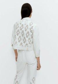 Uterqüe - Summer jacket - white - 2