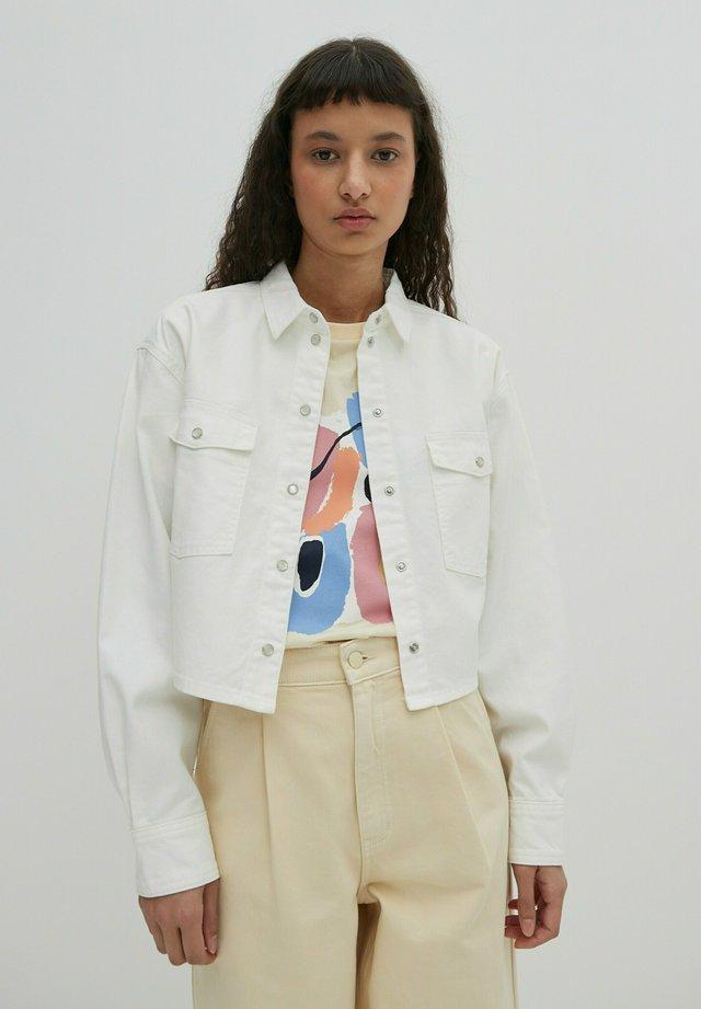 JORDYN - Button-down blouse - offwhite