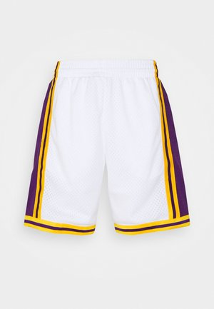 NBA LOS ANGELES LAKERS RELOAD SWINGMAN SHORT - Klubové oblečení - white