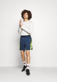 adidas Performance - Sports shorts - dark blue - 1