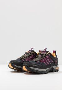 CMP - RIGEL - Hiking shoes - antracite/bounganville - 2