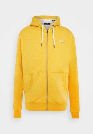 ORANGE LABEL - Zip-up hoodie - upstate gold