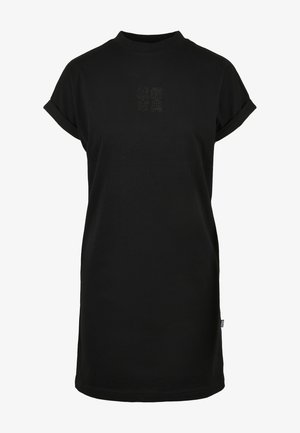 Jersey dress - black/black