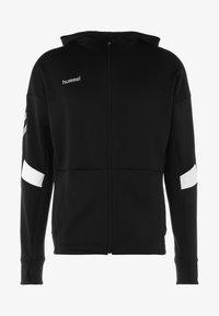 Hummel - TECH MOVE ZIP HOOD - Training jacket - black - 6