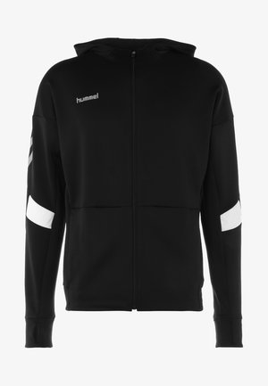 TECH MOVE ZIP HOOD - Training jacket - black
