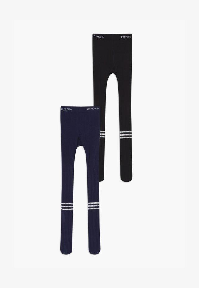 VARSITY  2 PACK - Panty - navy/schwarz