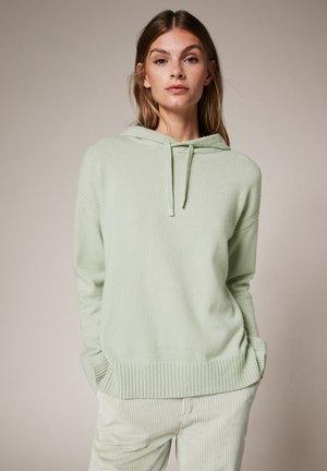 Hoodie - misty green