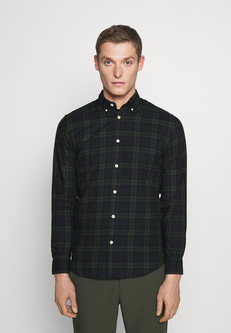 Selected Homme - SLHSLIMHOUSTON CAMP - Camicia - rosin