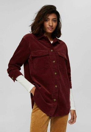 Summer jacket - garnet red