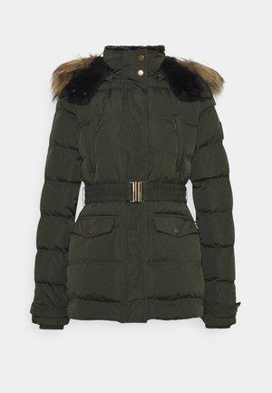 ALMAH - Down jacket - after dark green