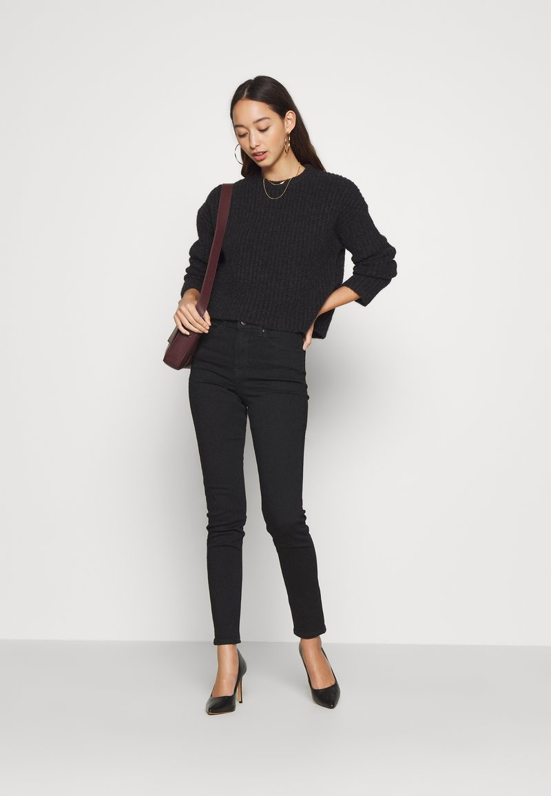 Anna Field Jeans Slim Fit - black denim SGr9wk