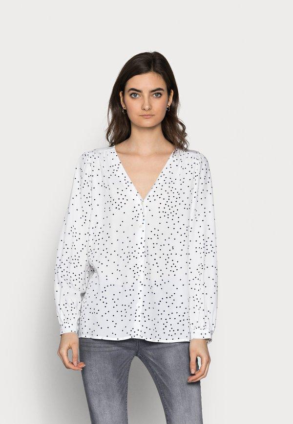 Gap Tall Bluzka z długim rękawem - black/white/czarny HUAH