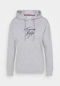 Tommy Hilfiger - HOODIE - Haut de pyjama - grey heather - 0