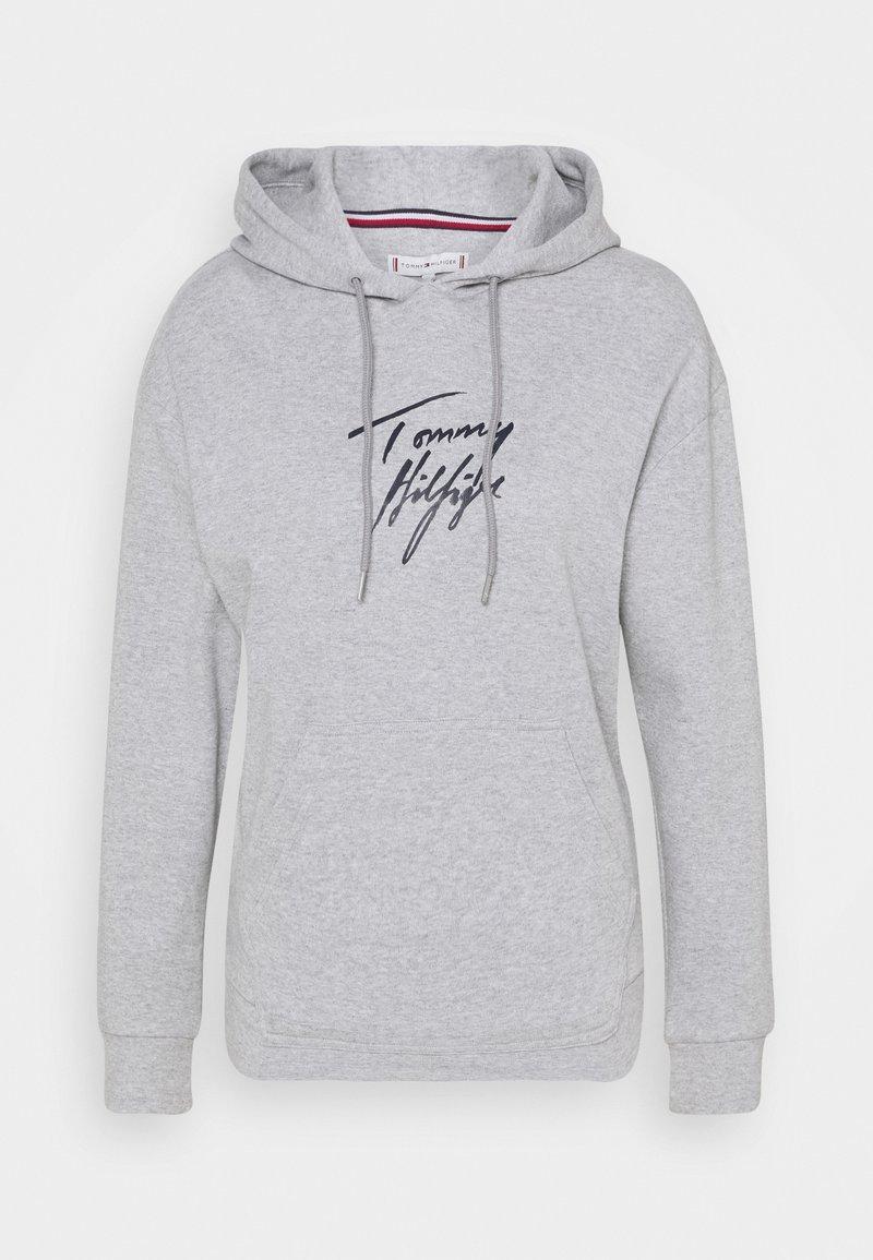 Tommy Hilfiger - HOODIE - Haut de pyjama - grey heather