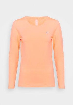 ONPCLARISSA TRAINING TEE - T-shirt sportiva - neon orange