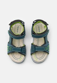 Friboo - LEATHER - Walking sandals - dark blue - 3