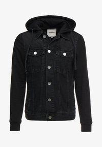 FUNDA JACKET - Denim jacket - black