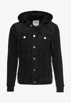 FUNDA JACKET - Spijkerjas - black
