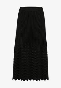 Selected Femme - A-line skirt - black - 3