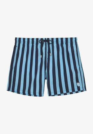 Swimming shorts - navy blue stripes