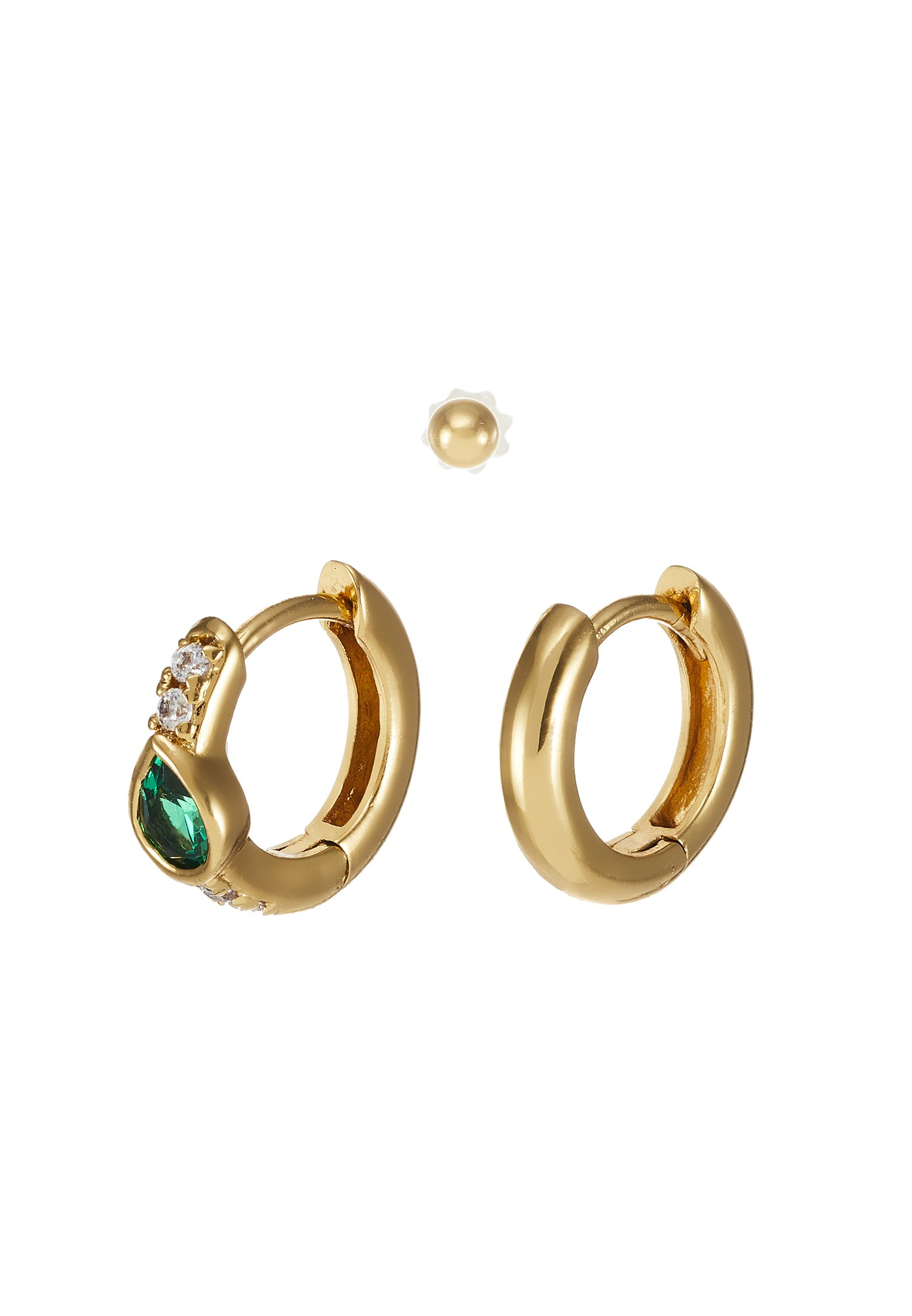 Orelia Teardrop Ear Party - Ohrringe Gold-coloured/gold