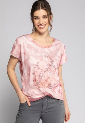 T-shirt print - puderrosa