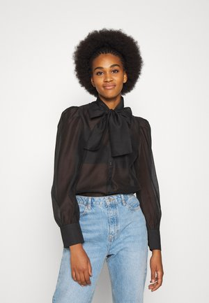 VMBRIANA - Button-down blouse - black