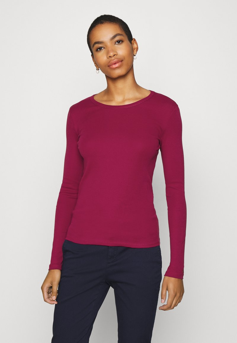 Benetton - Long sleeved top - burgandy