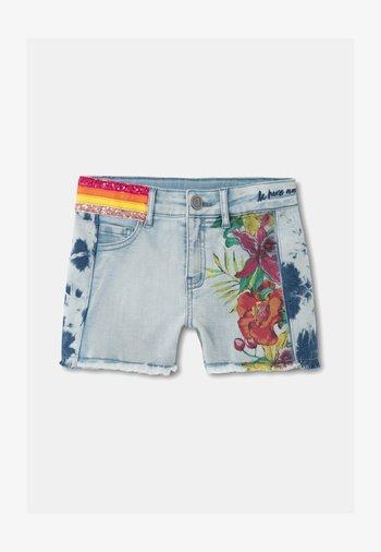 RUBI - Denim shorts - blue